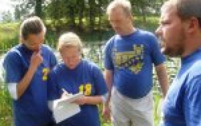 Gārsenes pils komanda piedalās Muižnieku turnīrā -2012