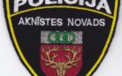 Aknīstes novada policijas inspektores darba laiks