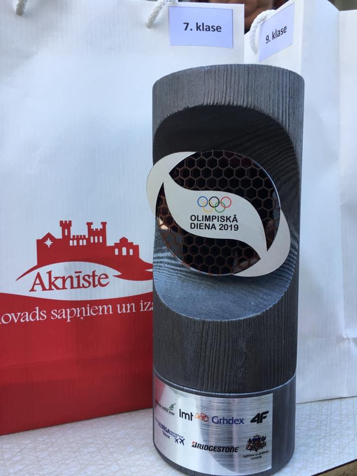 Olimpiskās Dienas -2019 aktivitātes