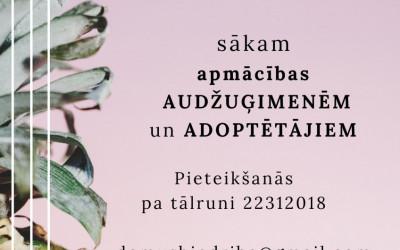 Audžuģimeņu un adoptētāju apmācības