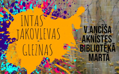 Aknīstietes Intas Jakovļevas gleznas.