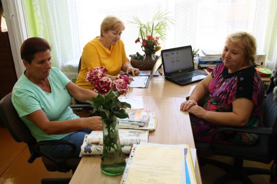 Aknīstes novada izglītības iestāžu pieņemšana