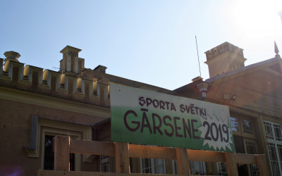 Sporta svētki Gārsenē