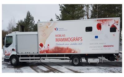 Par mobilā mamogrāfa izbraukumu