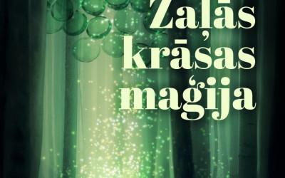 """Biedrībā """"Ūdenszīmes"""" aicina uz radošo dienu  """"Zaļās krāsas maģija""""."""