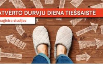 Atvērto durvju diena RSU tiešsaistē – maģistra studiju interesentiem 12. maijā